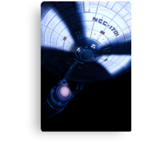 Star Trek : USS ENTERPRISE Canvas Print