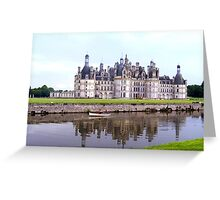 Chambord castle, France Greeting Card