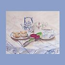 Vintage Tea Card by Patsy L Smiles