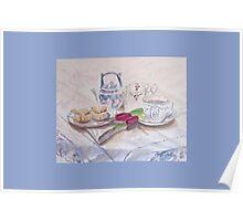 Vintage Tea Card Poster