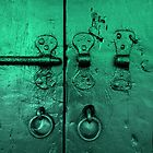 A Deep Green Door by Michele Filoscia