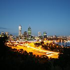 perth by night  by warren dacey