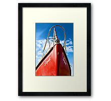 We are Sailing Framed Print