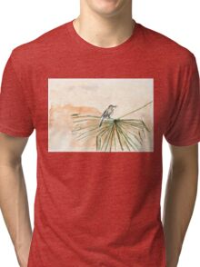 The Cape Wagtail thinks it's Spring! Tri-blend T-Shirt
