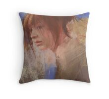 a pastel study Throw Pillow