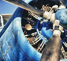 Blue Plane (Antonov 2) by phseven