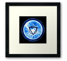 lighting for the geometricly inclined Framed Print