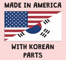 Made In American With Korean Parts Kids Clothes