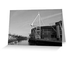 MIllennium Stadium, Cardiff  Greeting Card
