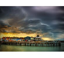 Schnapper Point Storm Photographic Print