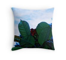 Flower or Creature?, Sri Lanka Throw Pillow
