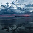 Ocean Grove Sunset by Alex Evans