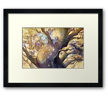 The Reading Tree Framed Print