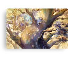 The Reading Tree Canvas Print