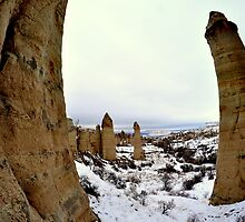 Love Valley, Cappadocia, Turkey by Hugh Chaffey-Millar