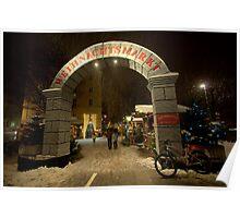 Christmas Markets, Innsbruck, Austria Poster