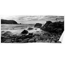 A beach at Bangor Poster