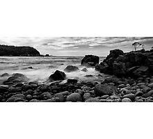 A beach at Bangor Photographic Print