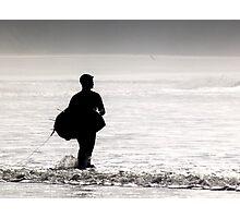 Surfer Rhossili Gower Photographic Print