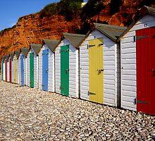 beach huts by Nick Pautrat