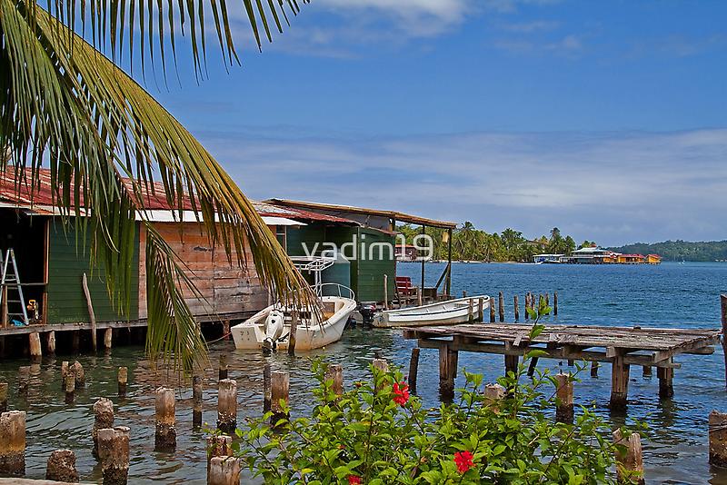 Panama. Bocas del Toro. Colon Island. by vadim19