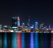 Perth Night Lights by Jarmat