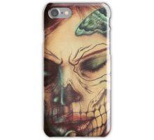 Skull Girl iPhone Case/Skin