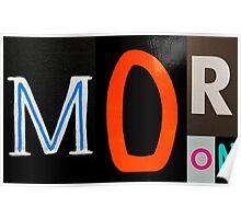 MORON Poster