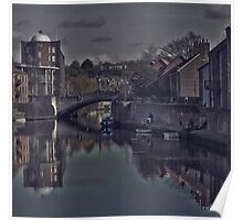 The Quayside Norwich Poster