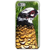 Golden Pheasant iPhone Case/Skin