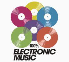 100% Electronic Music T-Shirt