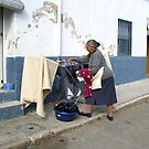 There.s nothing like clean fresh washing. by John  Smith
