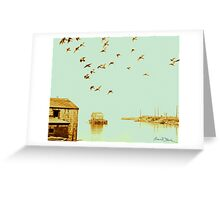 Flight at Peggy's Cove Greeting Card