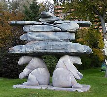 The Inukshuk by AnnDixon