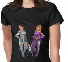 Twin Musketeers Womens Fitted T-Shirt