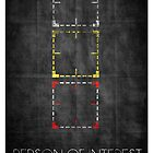 Person of Interest Minimalist Poster by Dexter Lewis