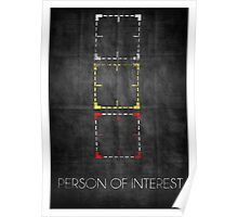 Person of Interest Minimalist Poster Poster