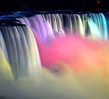 Niagara at Night by KeithRandall