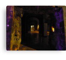 Catacombe Canvas Print
