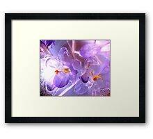FABULOUS FLOWERS Framed Print