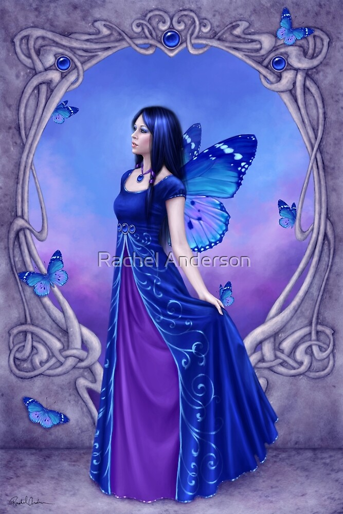 Sapphire Birthstone Fairy by Rachel Anderson