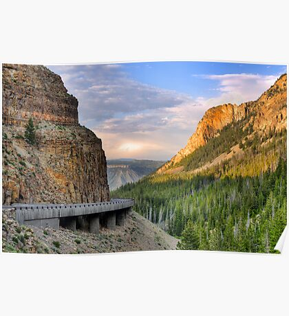 Golden Gate of Yellowstone Poster