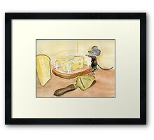 Craving Cheese Framed Print
