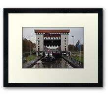 Inland shipping Framed Print