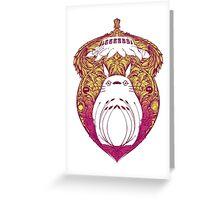 Totoro Victoriana Greeting Card