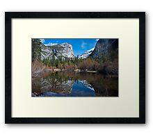 Mirror Lake Late February, Yosemite Framed Print
