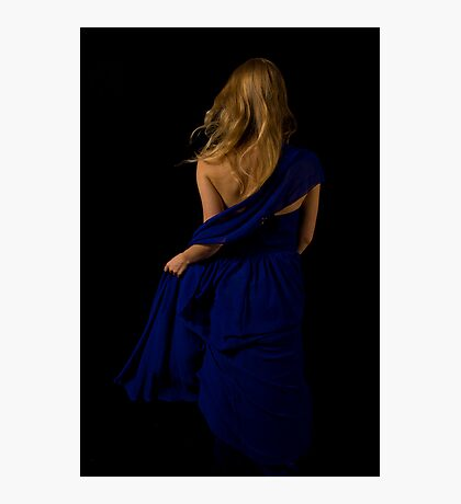Sapphire Swagger Photographic Print