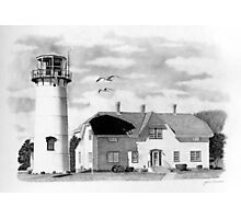Chatham Lighthouse, Cape Cod, Ma. Photographic Print