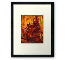 PADMASAMBHAVA & YESHE TSOGYEL ~ YAB YUM Framed Print