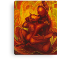 PADMASAMBHAVA & YESHE TSOGYEL ~ YAB YUM Canvas Print